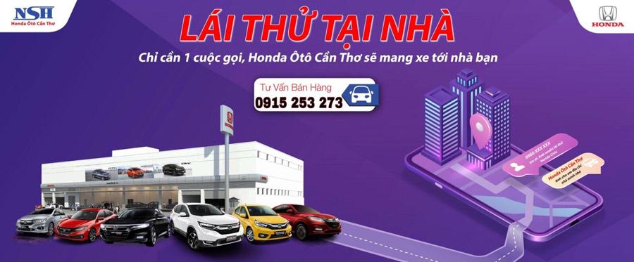 Chỉ cần 1 cuộc gọi, Honda Ô tô Cần Thơ sẽ mang xe tới nhà bạn