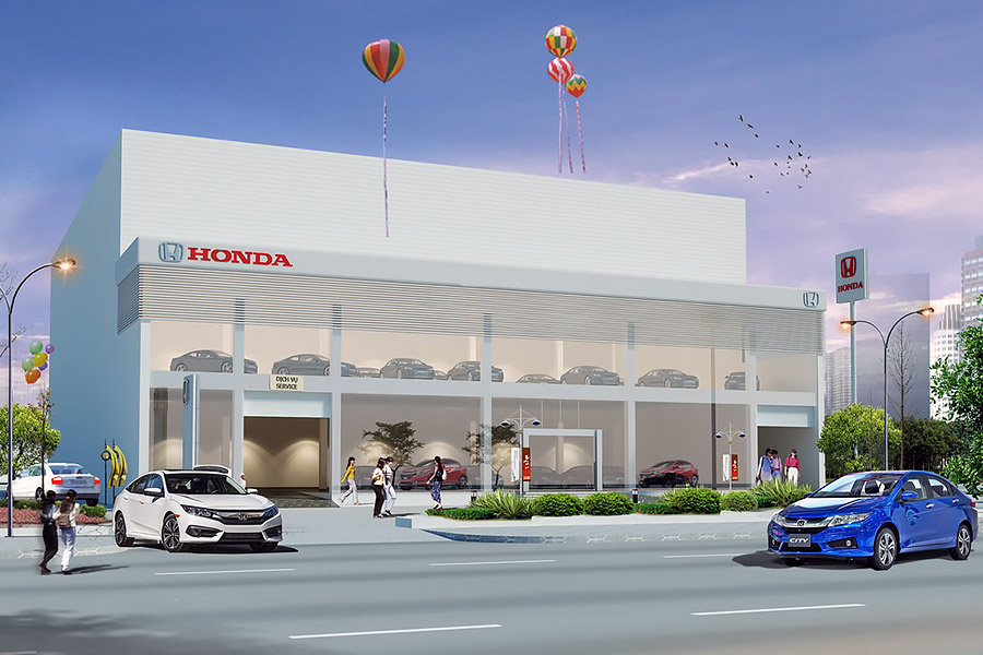 Đại lý Honda Ô Tô Cần Thơ
