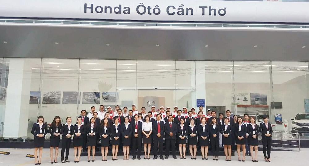 Nhân Viên đại lý Honda Cần Thơ