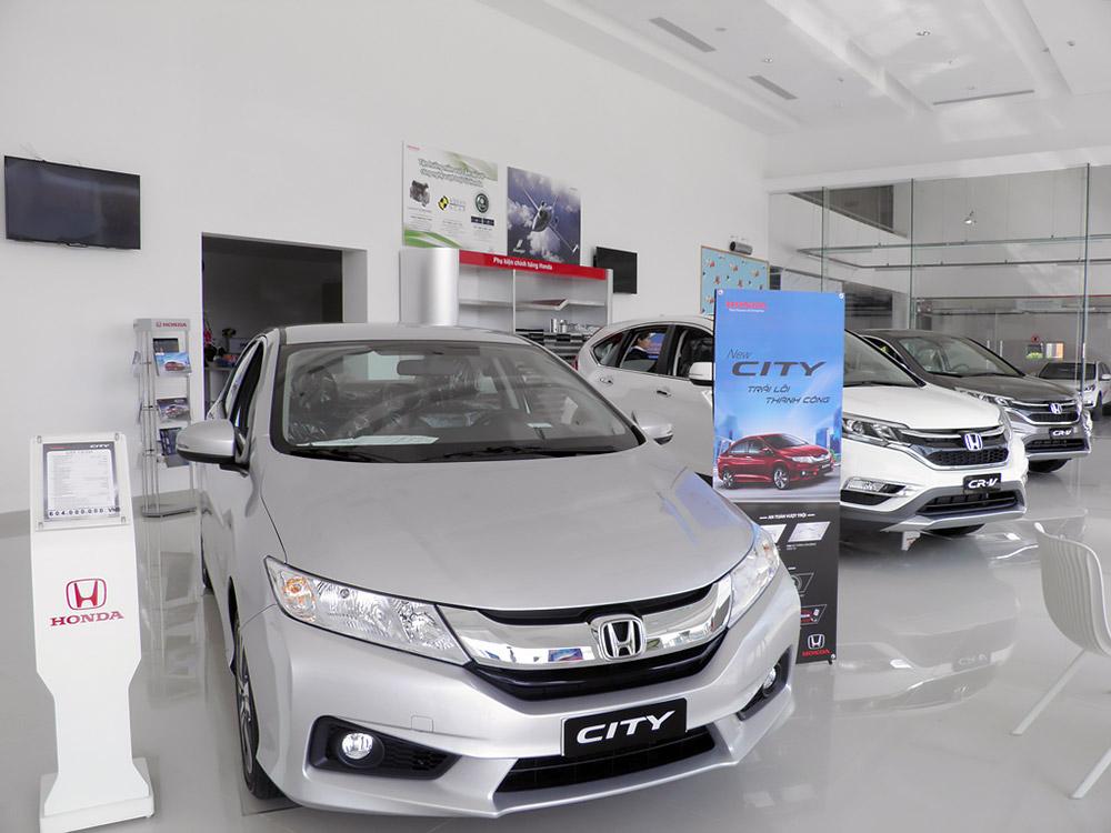 Showroom Honda 5S Cần Thơ