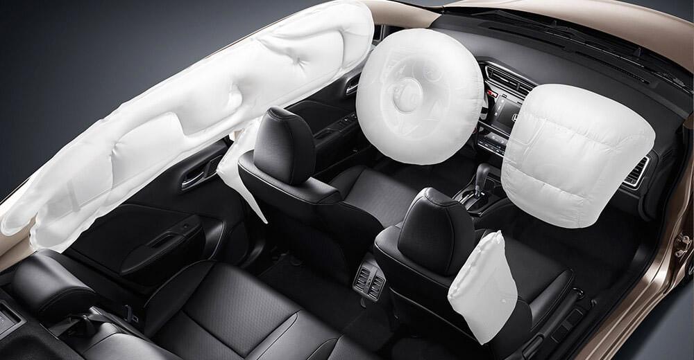 Tính an toàn trong thiết kế của Honda