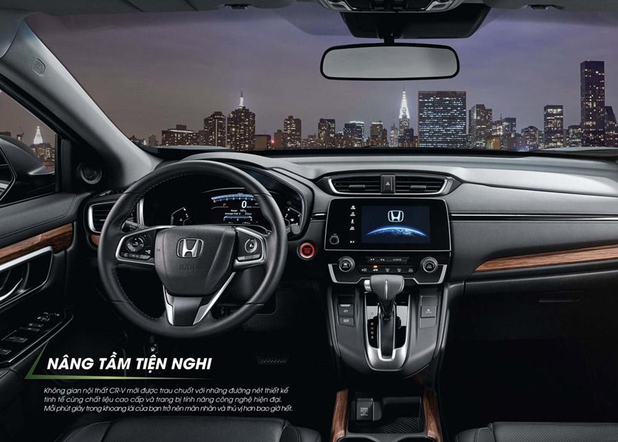 Bảng điều khiển trung tâm Honda CR-V