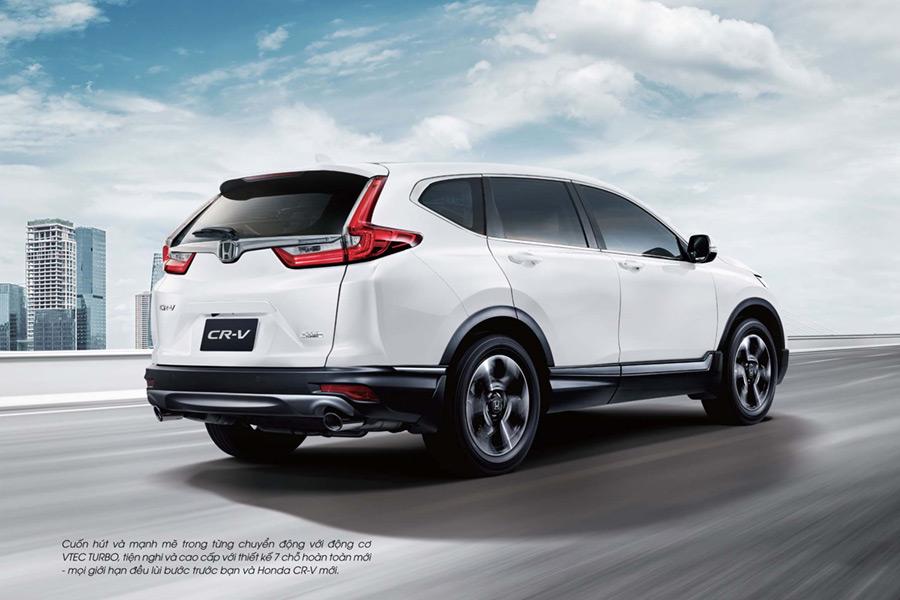 Honda CR-V Cần Thơ - Thiết kế đuôi xe