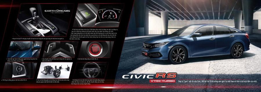 Vận hành hiệu quả với Honda Civic