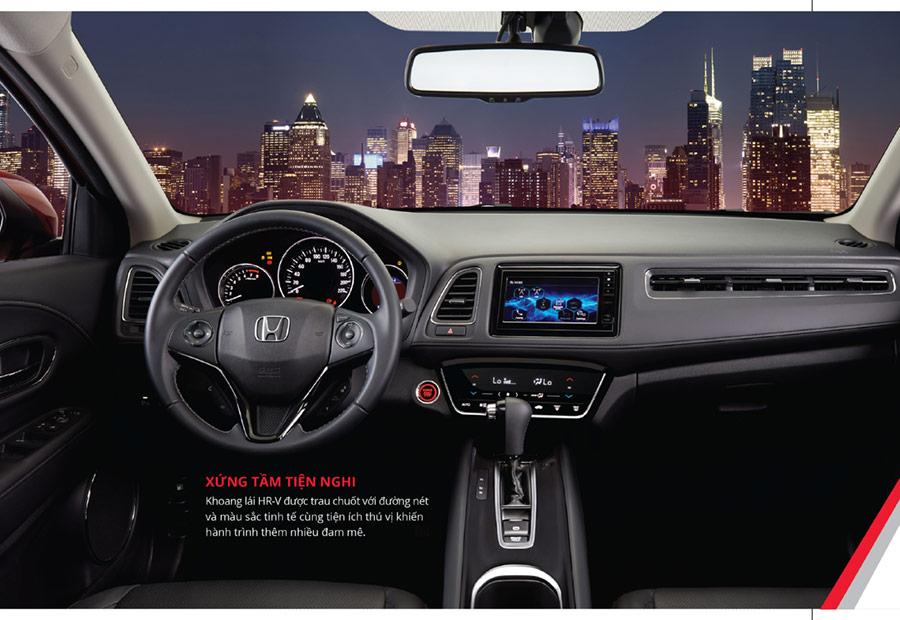 Honda HR-V Bảng điều khiển trung tâm