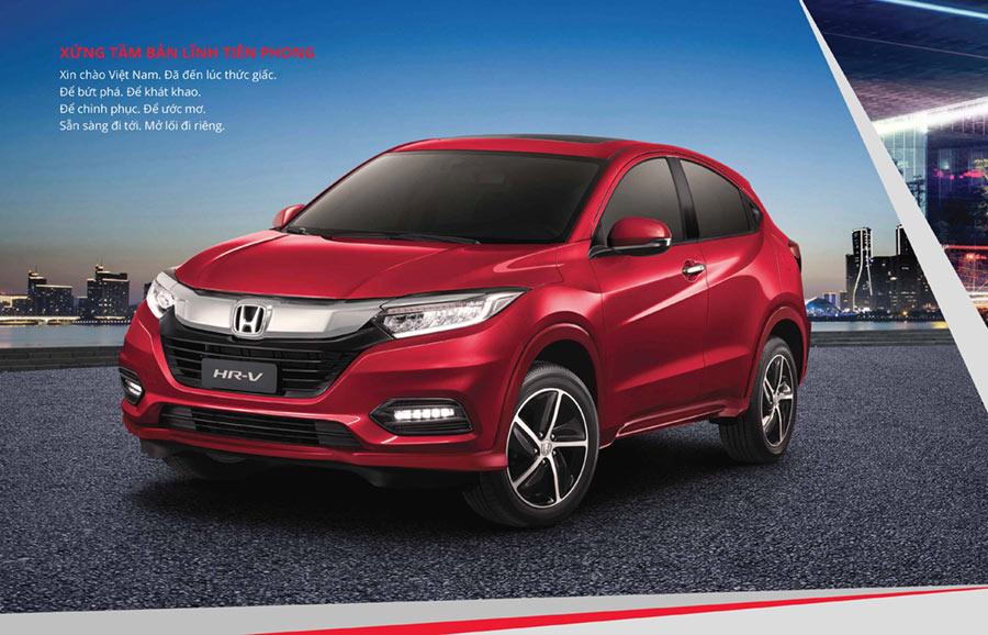 Thiết kế đầu xe Honda HR-V