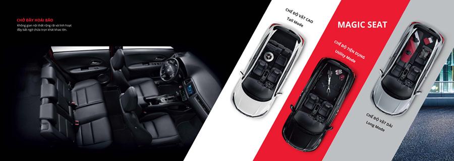 Honda HR-V Cần Thơ Nội Thất ấn tượng