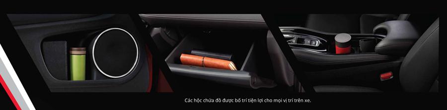 Tiện nghi trên Honda HR-V