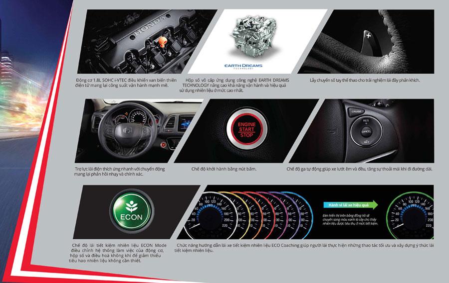 Động cơ và vận hành trên Honda HR-V Cần Thơ