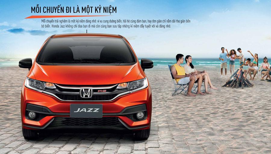 Honda Jazz Cần Thơ thiết kế đầu xe