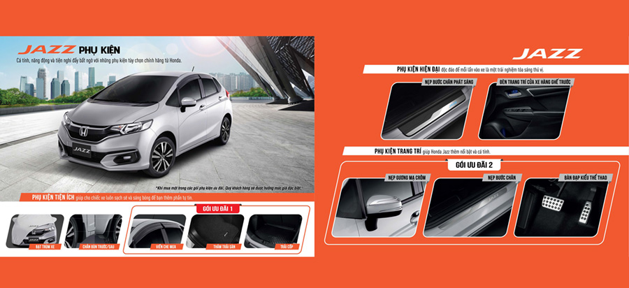 Honda Jazz Cần Thơ - Ưu đãi và phụ kiện xe