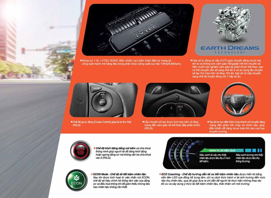 Honda Jazz Cần Thơ - Động cơ và vận hành