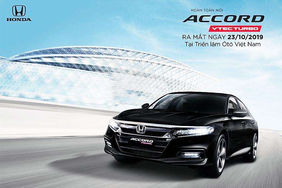 Honda Accord thế hệ thứ 10 hẹn ngày ra mắt