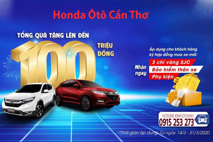 Khuyến mãi Tháng 3/2020 Honda ô tô Cần Thơ