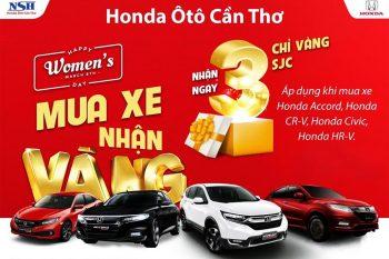 Khuyến mãi tại Honda Ô Tô Cần Thơ - Mua xe trúng vàng