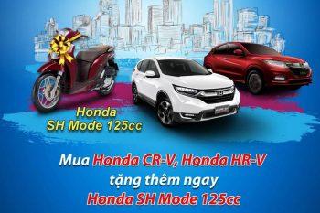 Khuyến mãi Tháng 4/2020 Honda ô tô Cần Thơ