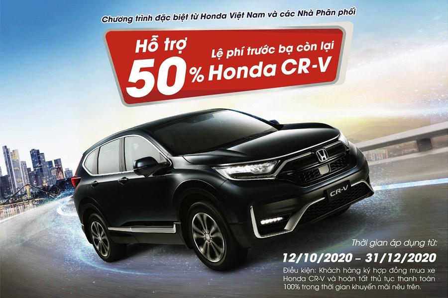 Khuyến mãi mới Honda CR-V Cần Thơ