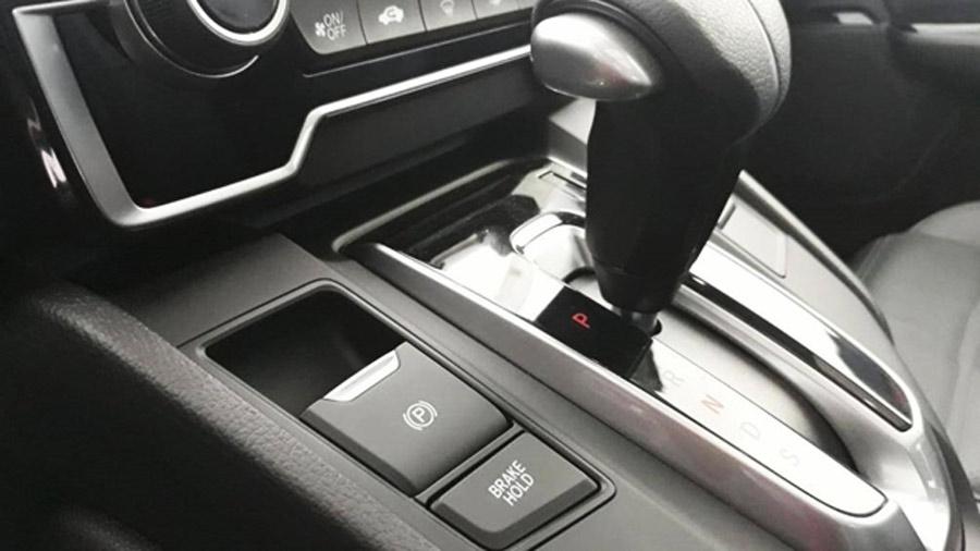 Phanh tay điện tử trên Honda CRV