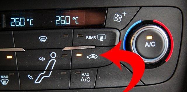 Tài xế cần linh hoạt điều chỉnh chế độ lấy gió điều hòa ô tô
