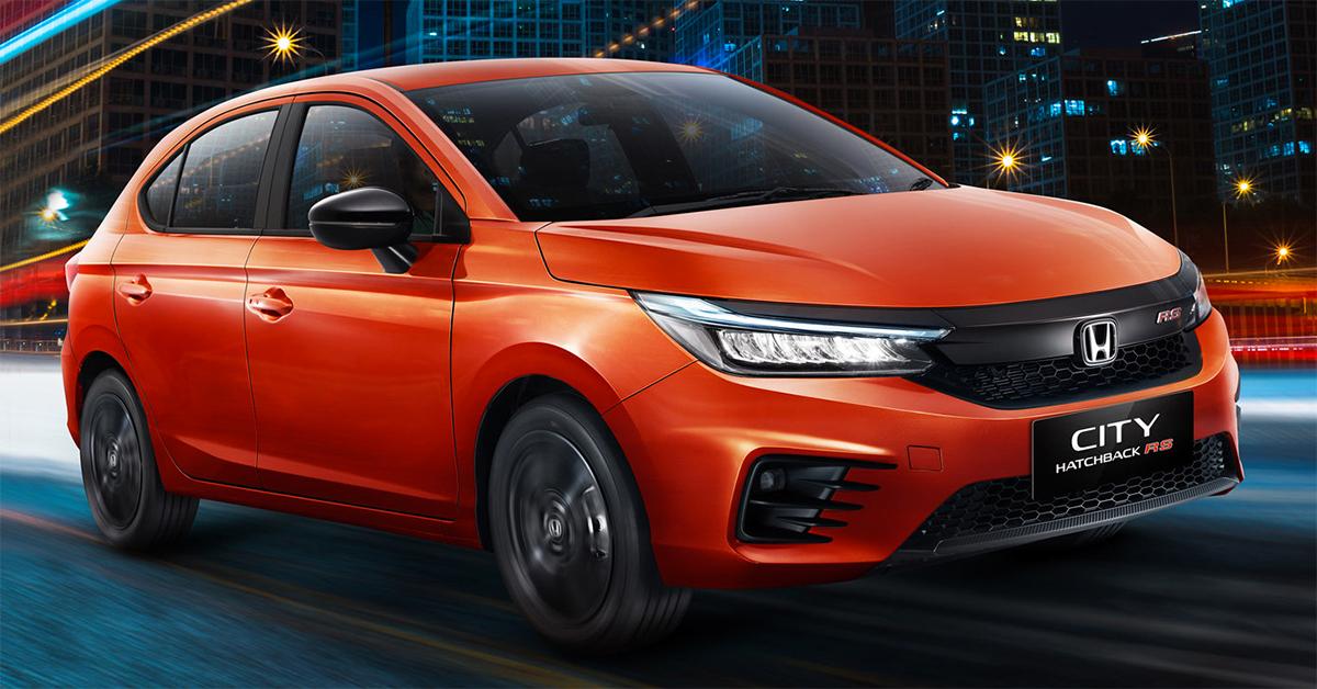 City hatchback bản RS ra mắt thị trường Indonesia