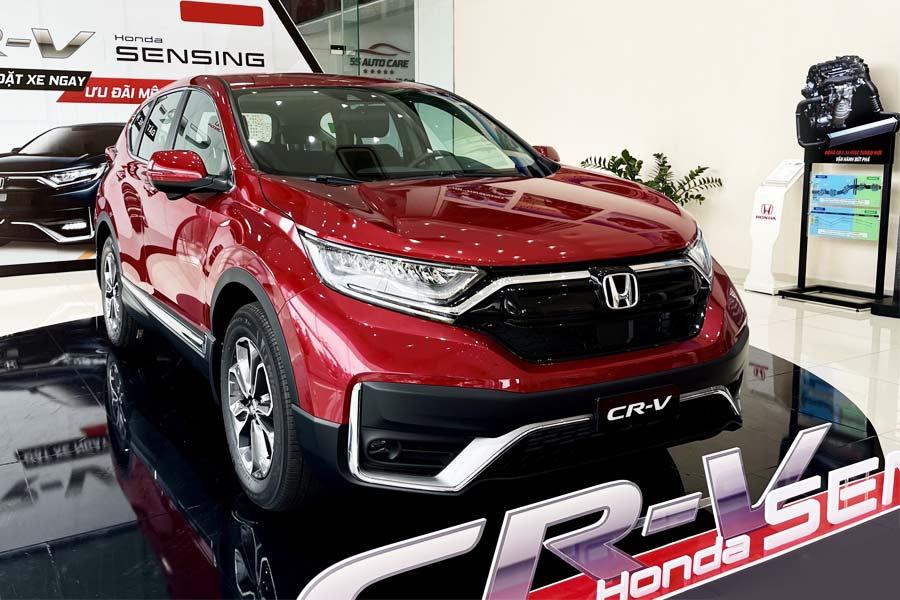 Honda CR-V: Xe Nhật không bảo thủ